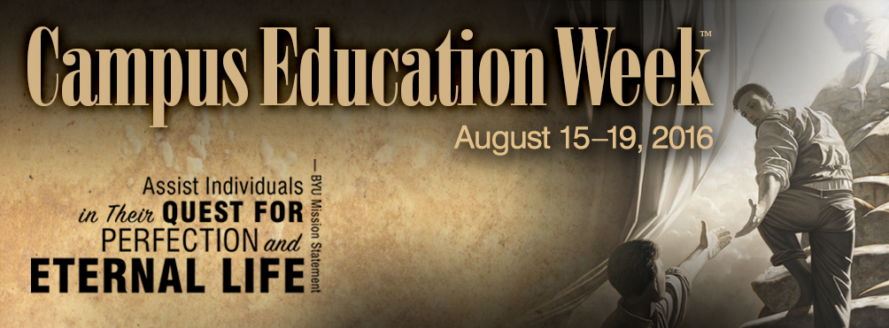 BYU Education Week 2016