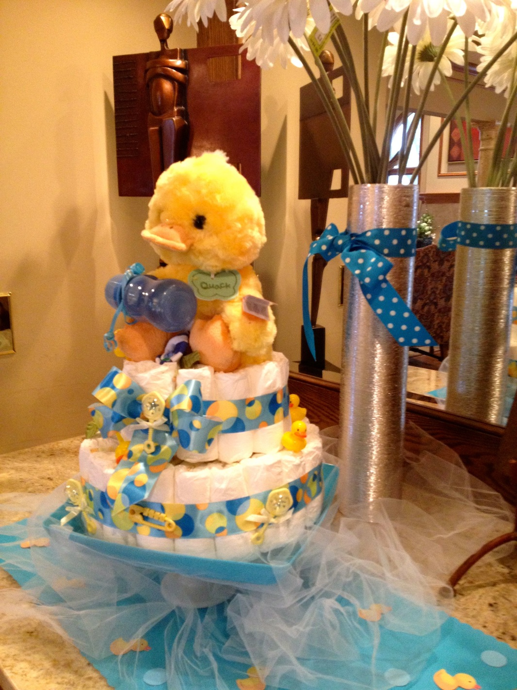 baby shower rubber duck theme shelley beatty