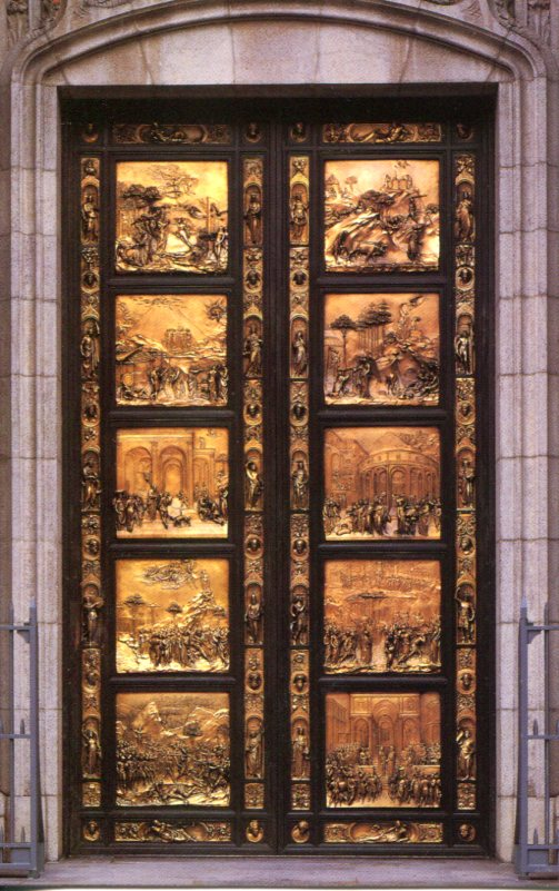 Ghiberti's Doors of Paradise St Grace Cathedral San Francisco