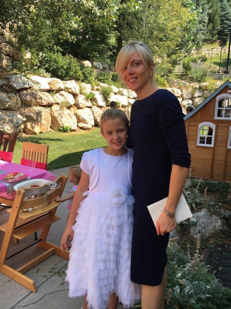 Becca and her mom Jen