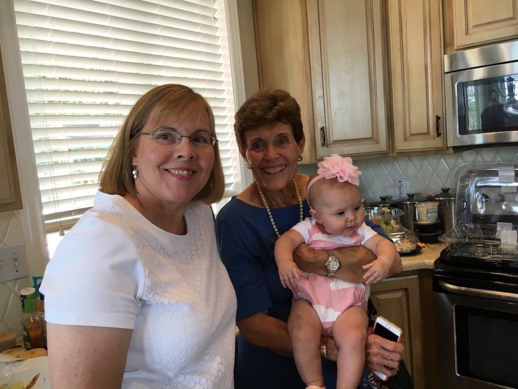 Anneli, Carole and Rachel's baby