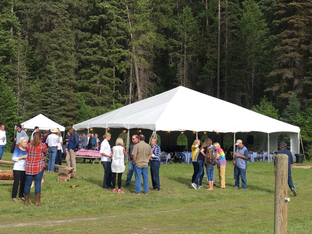 Barbecue at the Rocky Mountain Neurological Society