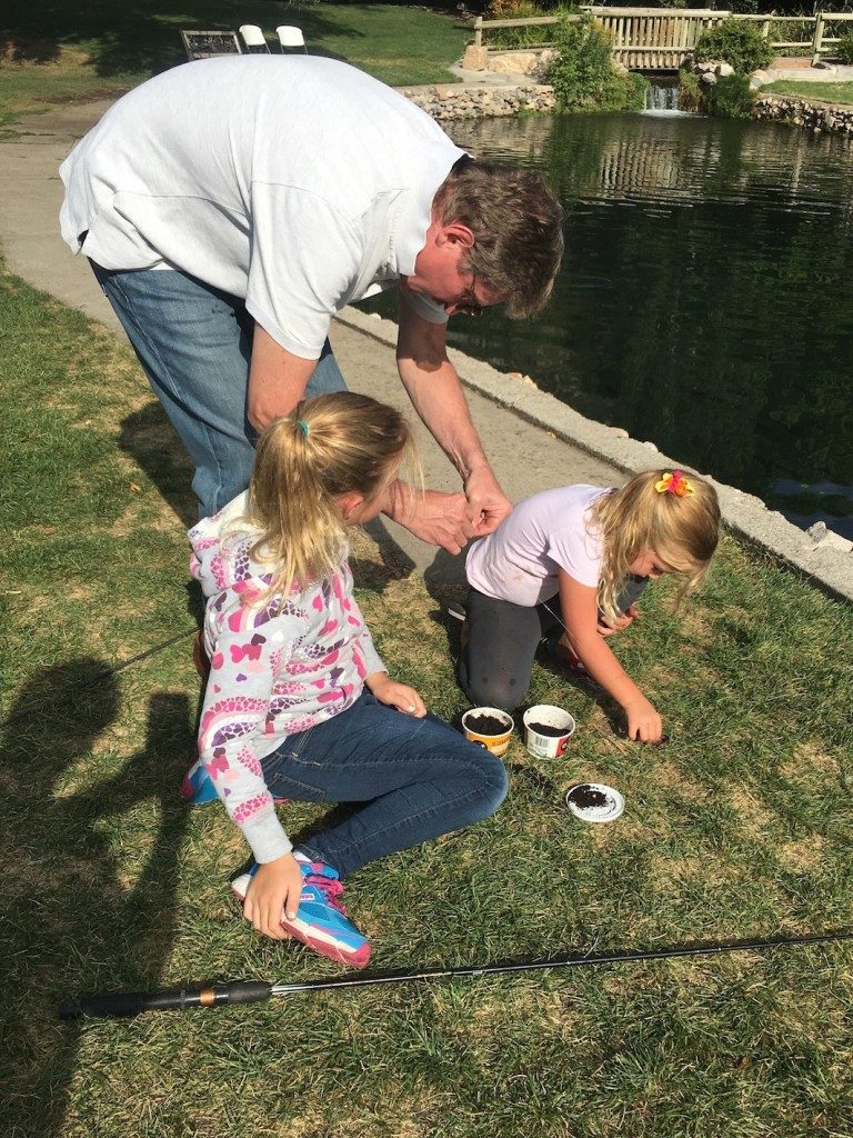 Fishing at Cold Springs Trout Farm