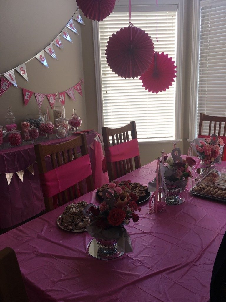 Becca's eight is great party