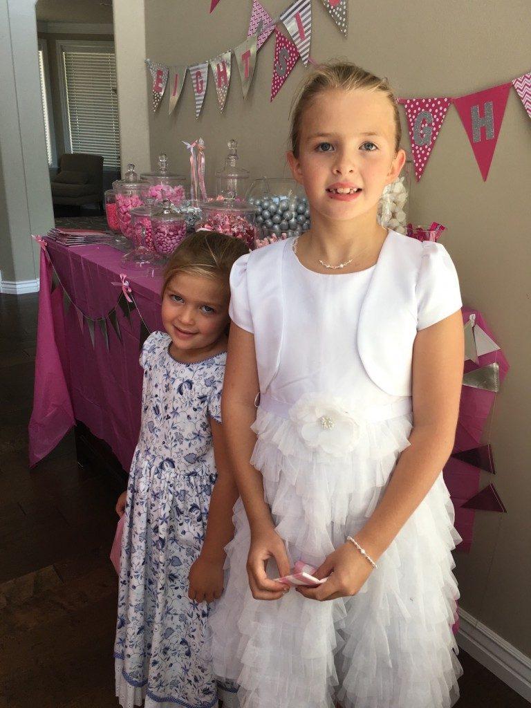 Caroline and Becca