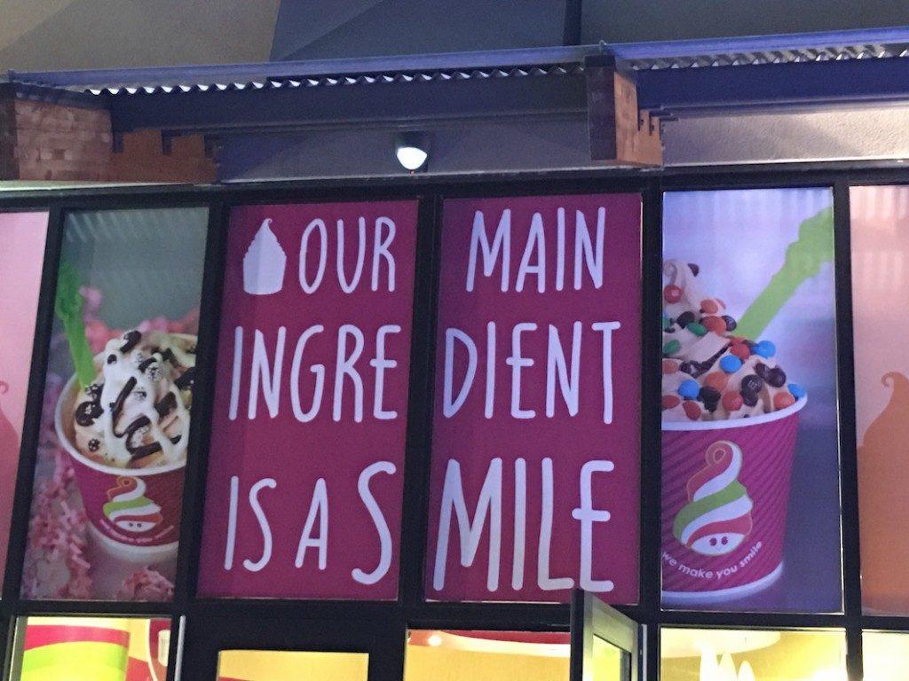 Menchies Yogurt in Portland Oregon