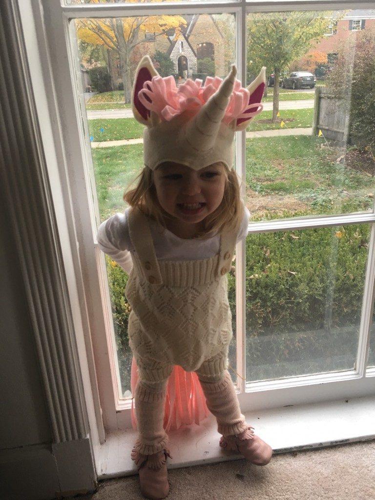 Becca's little unicorn