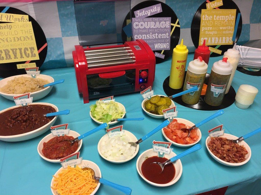 Hot Dog Buffet