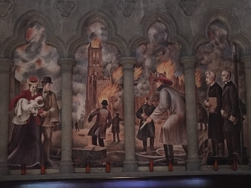 Murals St Grace Cathedral San Francisco