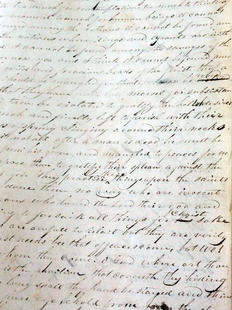 Letter dictated by Joseph Smith from Liberty Jail