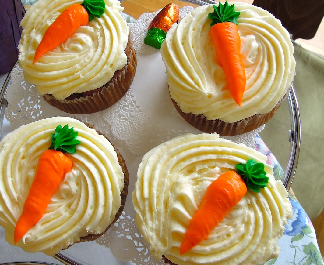 Carrot Cake Cupcakes Recipes — Dishmaps